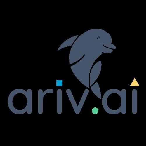 ariv dot ai grey logo