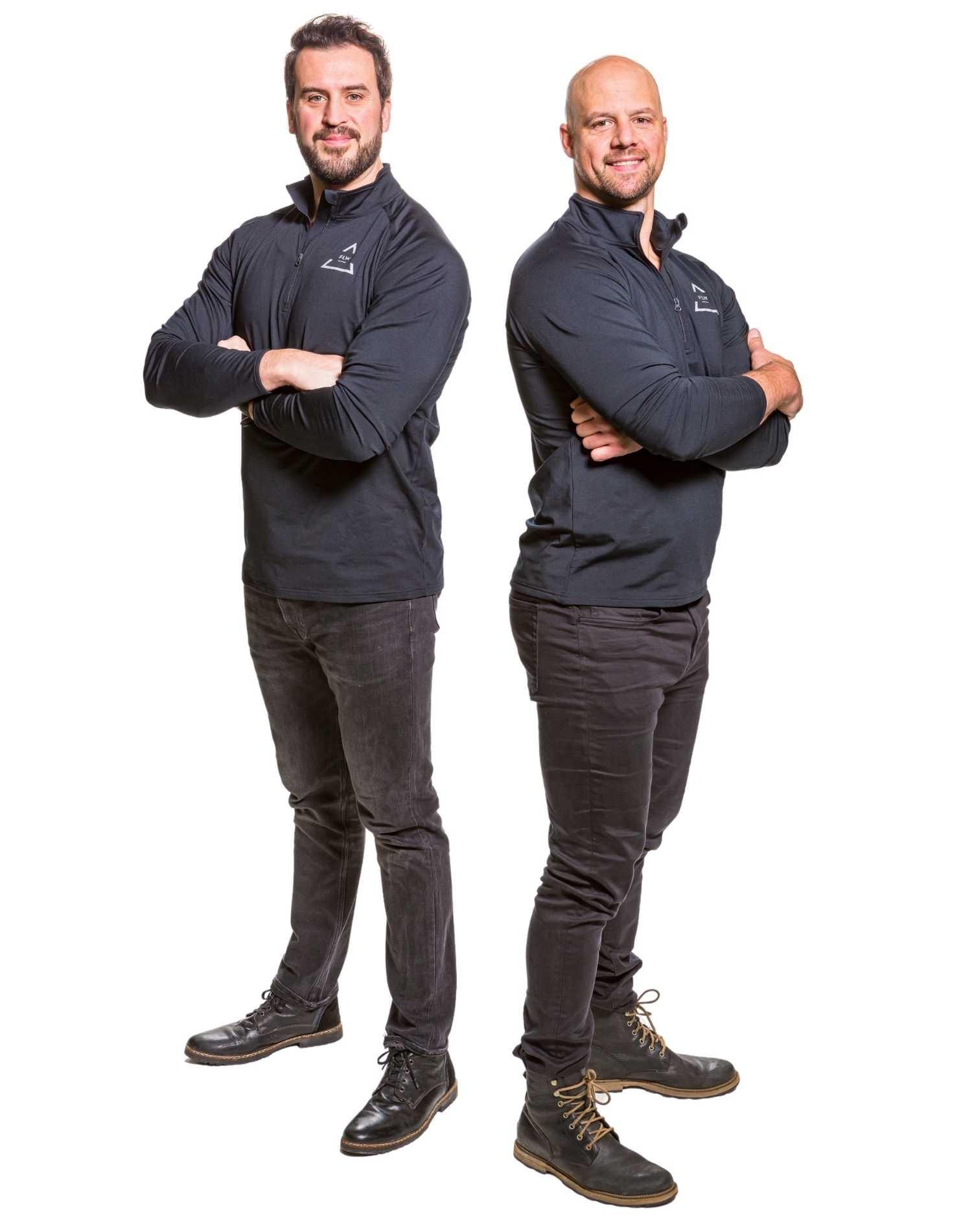 Dr. James Midboe and Ben Utecht