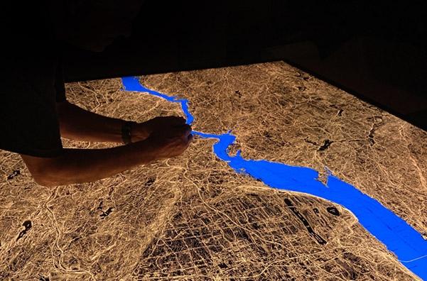 Everyone loves an illuminated map.