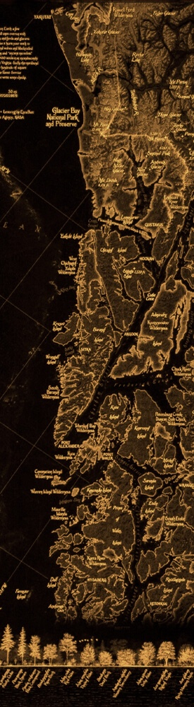 Tongass National Forest map