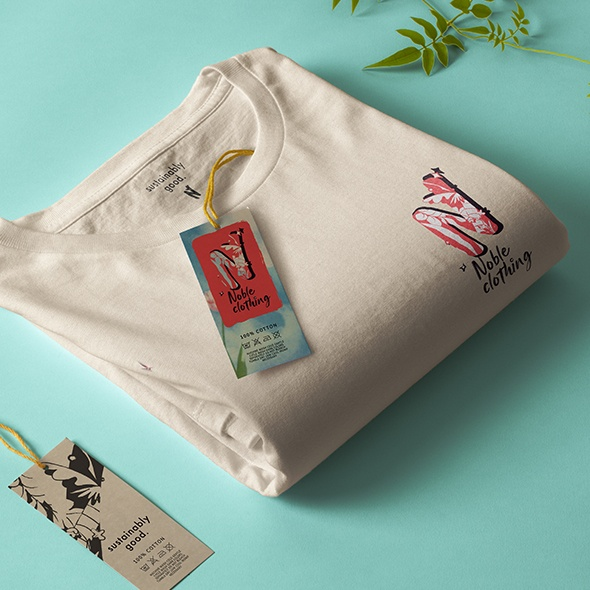 example of branding for a sustainable clothing company