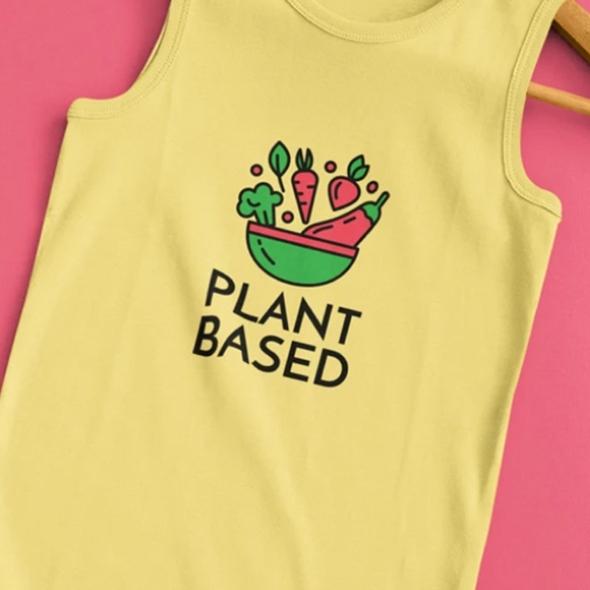 example of a vegetarian tshirt design