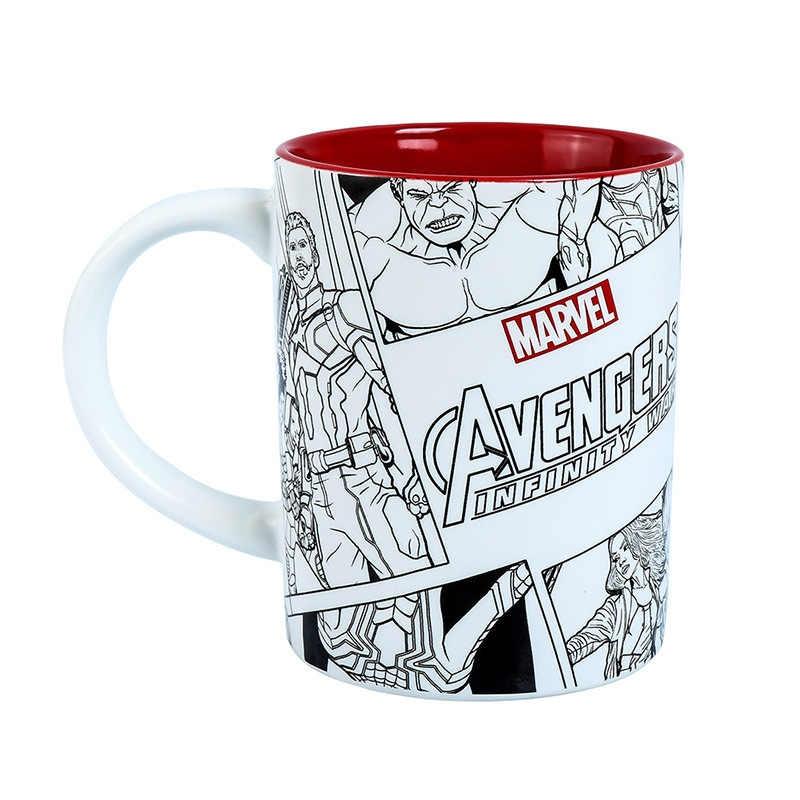 Mug De Marvel Monocromía