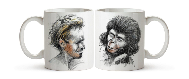 Doble Mug del Planeta de los Simios