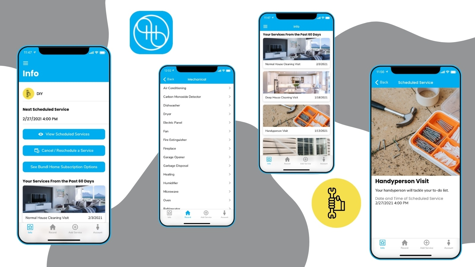 Bundl Home DIY App