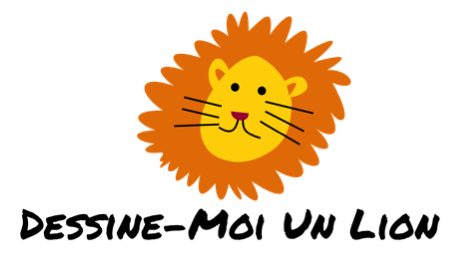 Logo dessine moi un lion