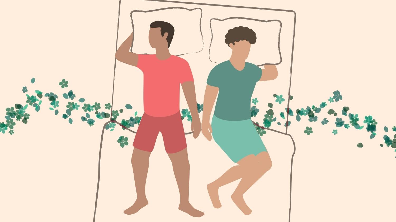 Couple Sleeping Positions, Paper Dools