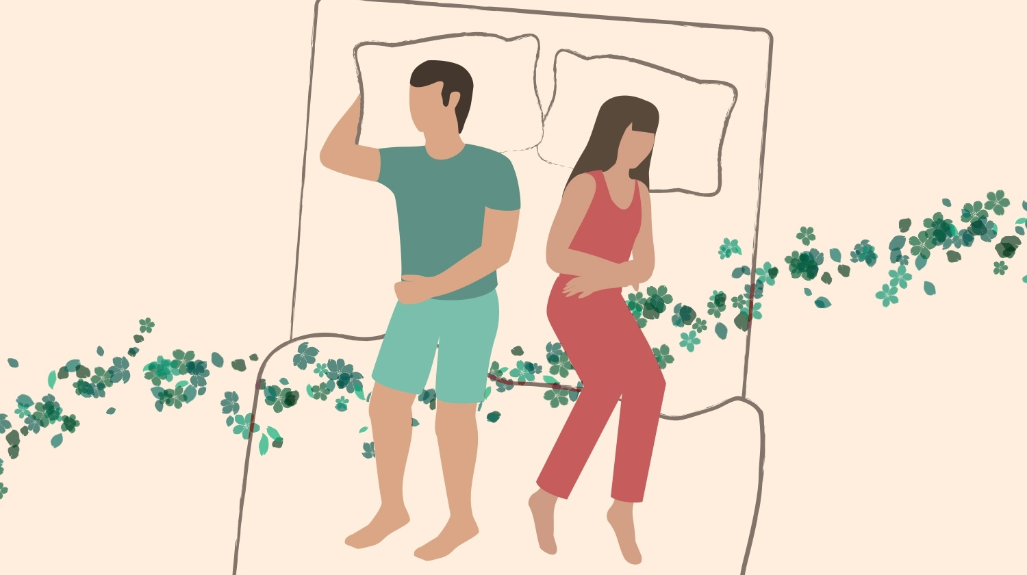 Couple Sleeping Positions, Clifhanger