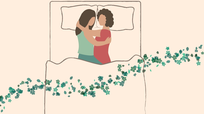 Couple Sleeping Positions, Tangle