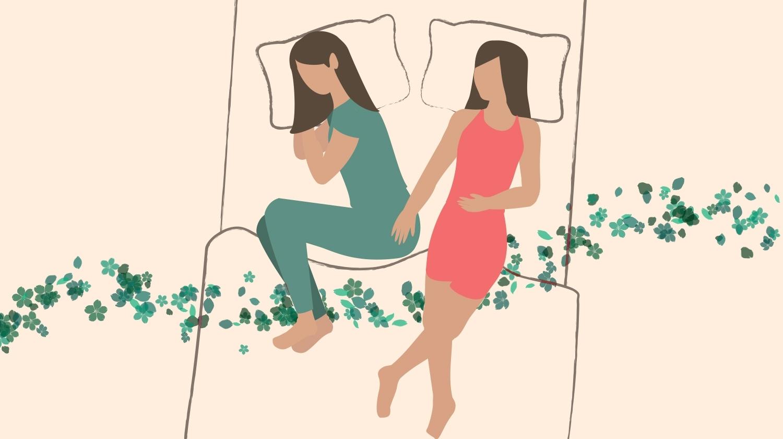 Couple Sleeping Positions, Teetherball