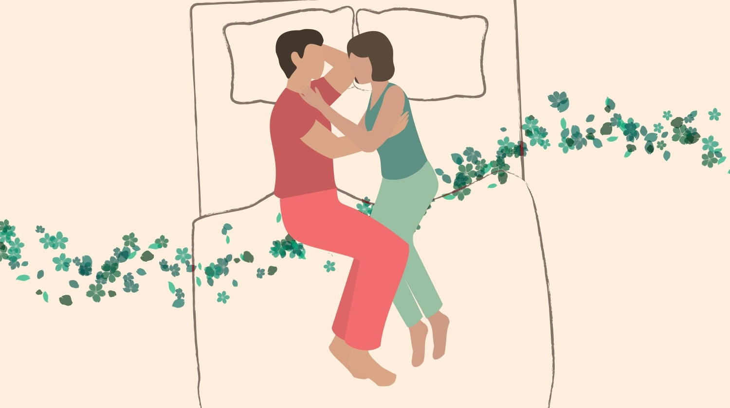Face-to-Face, Touching Sleeping, Not Touching Sleeping, Sleeping Position, Sleeping Positions, Best Sleeping Positions