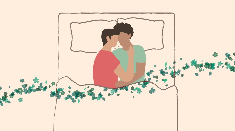 Couple Sleeping Positions, Cradle